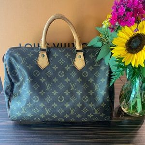 Authentic Louis Vuitton Speedy 35 Monogram Bag